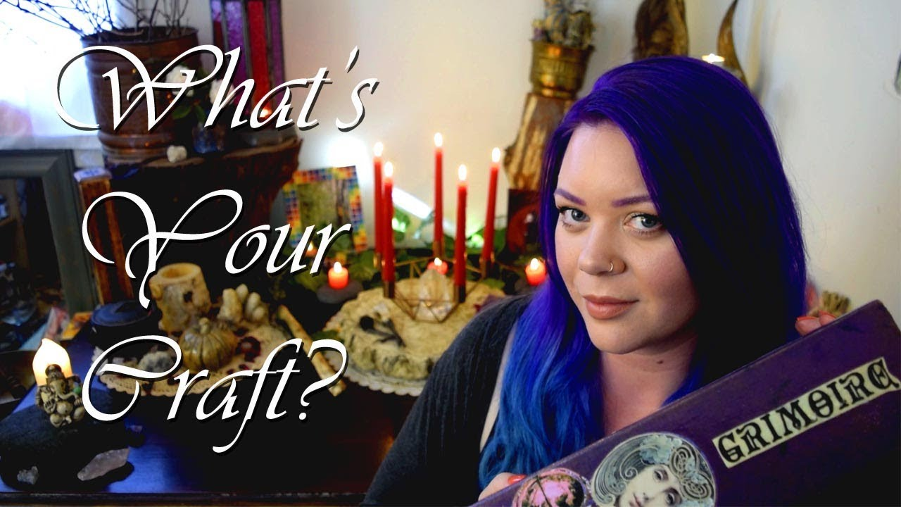 What Kind Of Witch Are You? || My First Spell || Magical Pet Peeves!     What's Your Craft Tag