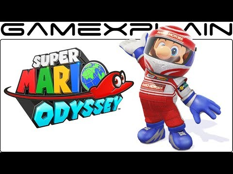 NEW Costume in Super Mario Odyssey! Racing Outfit & Helmet