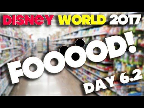 DISNEY WORLD 2017 - ORLANDO FLORIDA - DAY 6.2 - WALMART & FOOD!