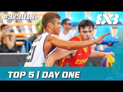 Top 5 - FIBA 3x3 U18 Europe Cup 2017