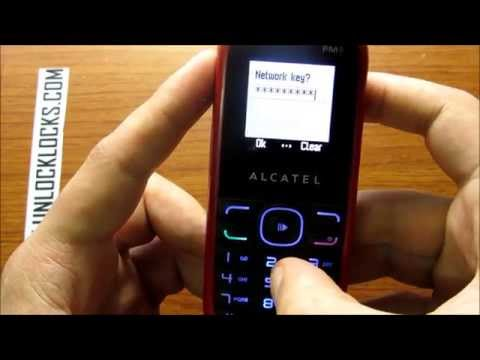 How To Unlock Alcatel OT-308 and OT-308A By Unlock Code From UnlockLocks.COM