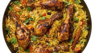Easy Chicken Briyani at home