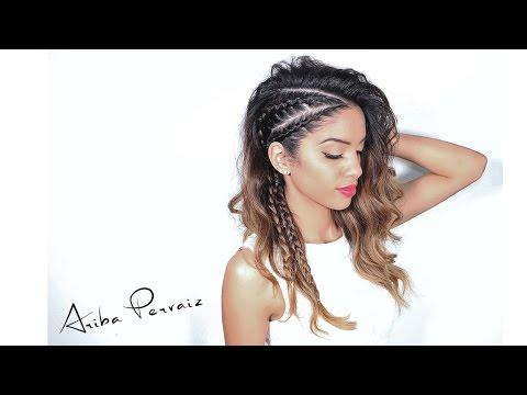 How To: Faux Undercut (Viking Braids) - HAIR TUTORIAL | ARIBA PERVAIZ