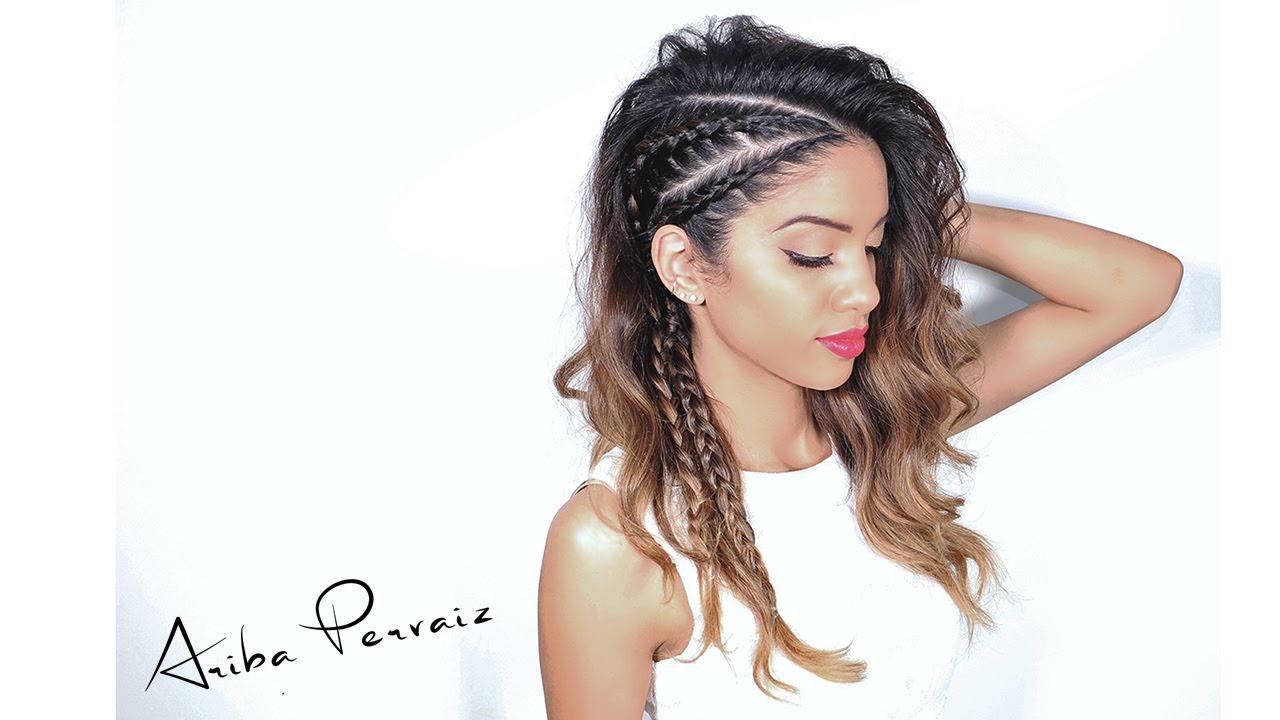Faux undercut viking braids hair tutorial ariba pervaiz faux undercut viking braids hair tutorial ariba pervaiz youtube ccuart Images