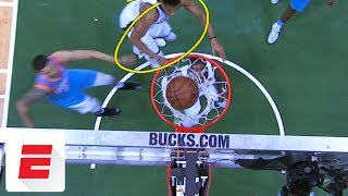 Giannis Antetokounmpo leaves game with ankle injury vs. Clippers | ESPN