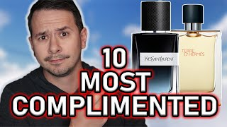 TOP 10 MOST COMPLIMENTED FRAGRANCES OF 2019 | MOST COMPLIMENTED MEN'S COLOGNES