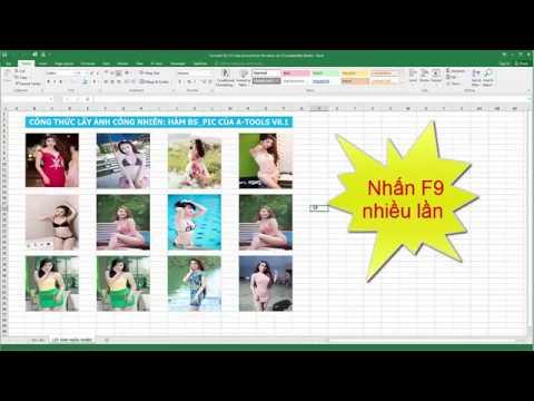 Công thức lấy ảnh ngẫu nhiên trong Excel với hàm BS_PIC của Add-in A-Tools v8.1