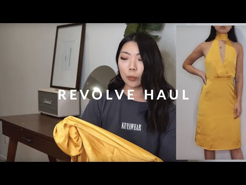 $1000 REVOLVE Clothing Haul + Sizing & Fit Review   JULIA SUH
