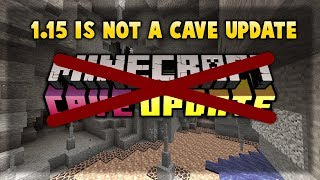 1.15 Is Not The Cave Update But Minecraft Is Most Sold Game