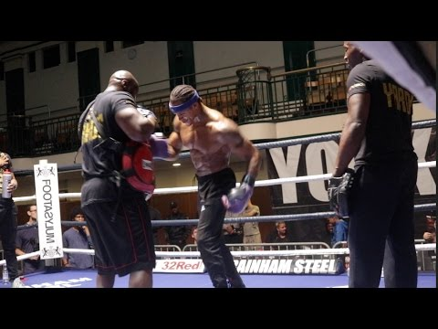BEAST!! ANTHONY YARDE LOOKS IN TREMENDOUS SHAPE AHEAD OF SOUTHERN AREA CLASH W/ CHRIS HOBBS