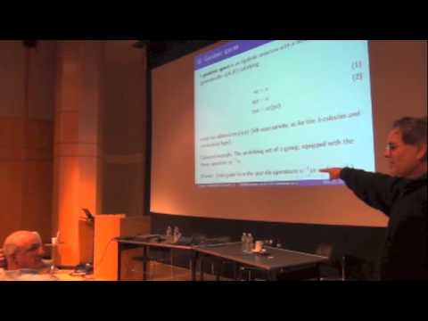 Vaughan Pratt's talk at The Constructive in Logic and Applications 2012