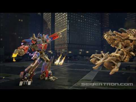 Transformers Forged to Fight Movie Optimus Prime vs Bonecrusher youtube