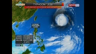 Weather update as of 12:17 p.m. (September 2, 2018)
