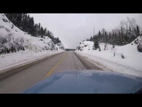 NEW UPLOAD: Ontario Highway 17 bei Nipigon - Truck Taxi #6
