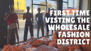 TIPS for First Visit to the Wholesale Fashion District