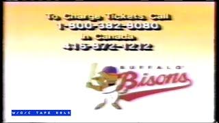 Buffalo Bisons Baseball Team Commercial - 1989