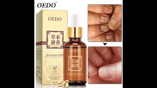 Oedo травяной грибковый гель для восстановления ногтей эссенция сыворотка ухода за ногтями лечение