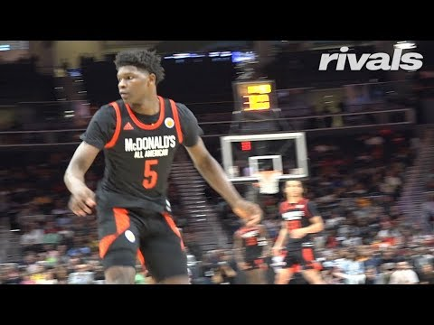 ceb2142a3c60 McDonalds All American Game  Anthony Edwards Highlights - YouTube