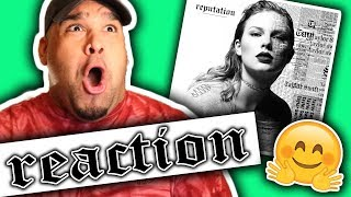 Taylor Swift - Reputation [REACTION]