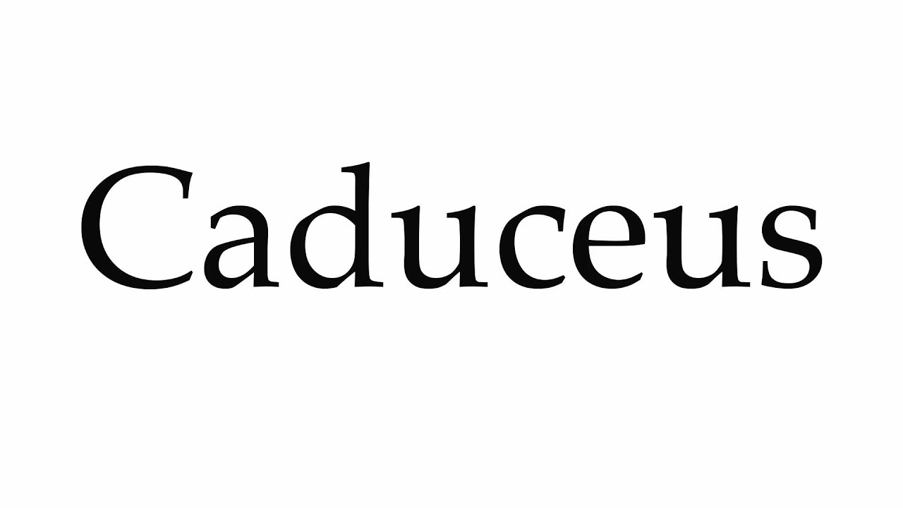 How to pronounce caduceus youtube how to pronounce caduceus biocorpaavc