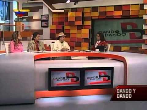 Susej Vera, Dilia Waikarán y Simón Pestana en VTV