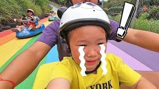 พาลูกเที่ยว เล่นรถลูจ นั้งกระเช้าลอยฟ้า ที่ไร่ทองสมบูรณ์คลับ@เขาใหญ่ - Thongsomboon Club Khao Yai