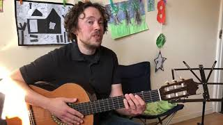 Guitar with Richard Carr - How to improvise Part 1