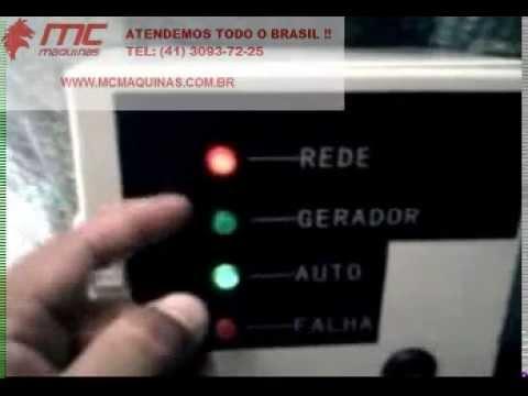 Gerador Toyama Tg12000cxe 3 Trifasico Automatizado Ats