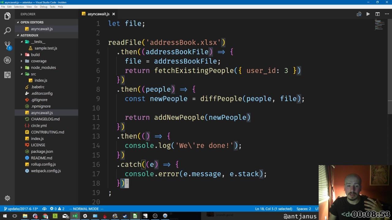 Javascript Async/Await In 15 Minutes