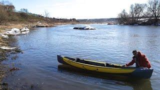 Байдарка ШУЯ - Первый спуск на воду(, 2015-03-19T18:04:27.000Z)