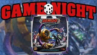 Game Night with Funagain Games! - Gekido: Bot Battles