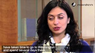 Nordic Cool 2013 - Interview with Minister for Culture Hadia Tajik