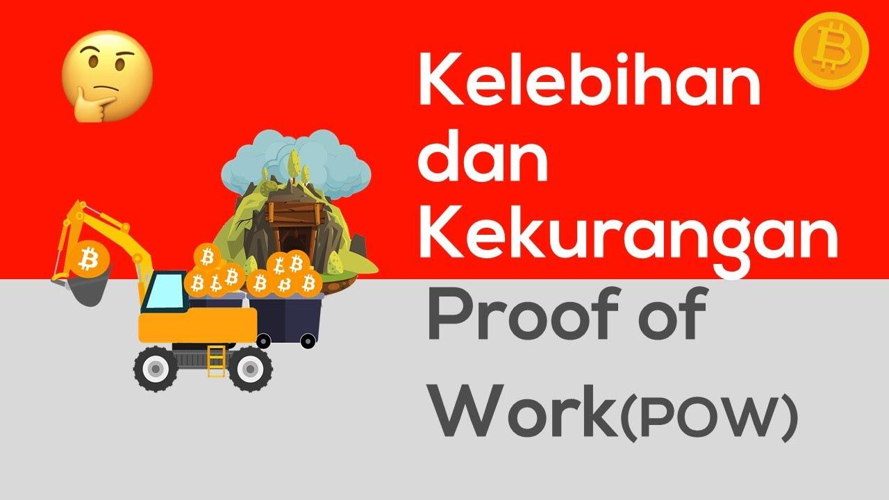 Kelebihan dan Kekurangan Proof of Work(POW) Bitcoin | Penjelasan Mudah Proof of Work bagi Pemula