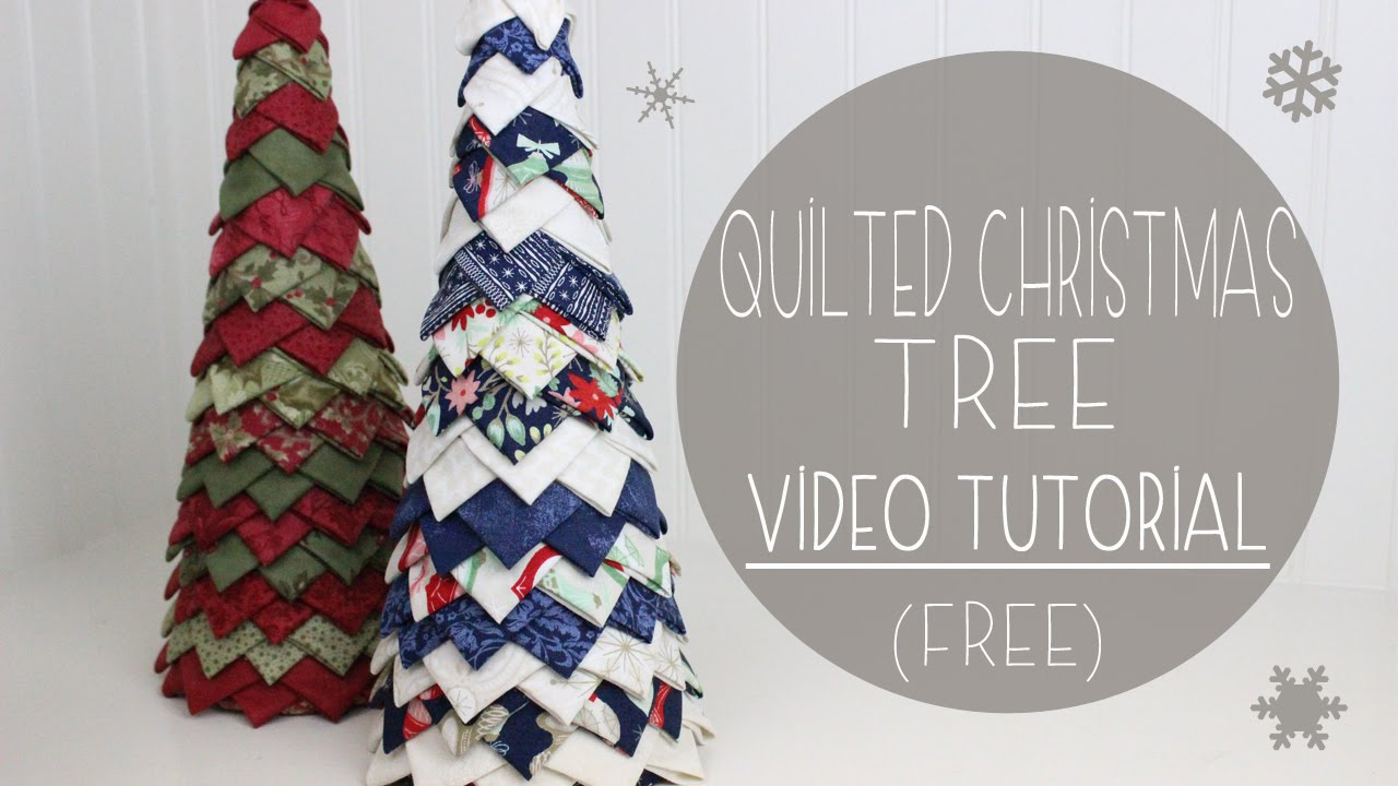 Quilted Christmas Tree Tutorial