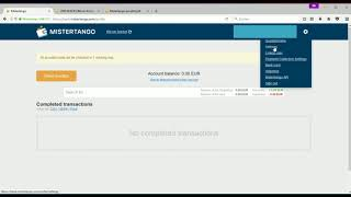 Mistertango - kostenloses Konto aus Litauen mit 0 € Mastercard