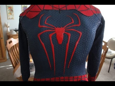 The Amazing Spiderman 2 Updated Suit Replica & The Amazing Spiderman 2 Updated Suit Replica - YouTube