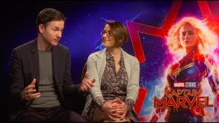 "Meet ""Captain Marvel"" Directors Anna Boden & Ryan Fleck"