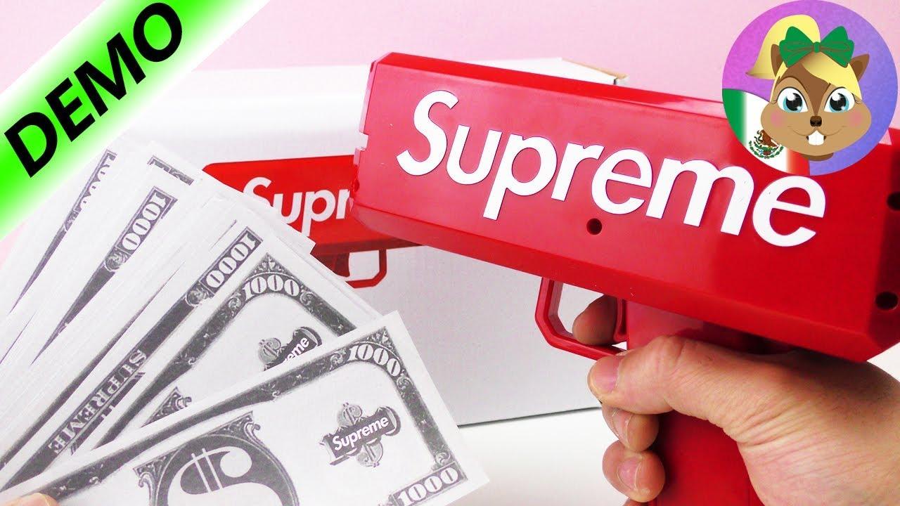 Download Supreme Money Gun español-Divertido juguete cañón de dinero|Juega conmigo