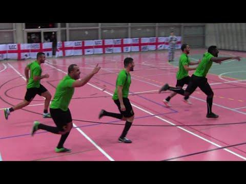 """"""" Lausanne Christmas Cup Finale Gaza Soccer Beach - Super Tropas"""