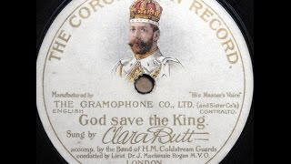 ''God Save The King'' = 2200 voices Toronto Exhibition (God save our gracious king Long live...)