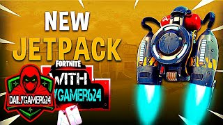 Jetpack Victory Royale in Fortnite Ft GF