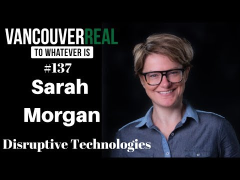 SARAH MORGAN ON THE VANCOUVERREAL PODCAST