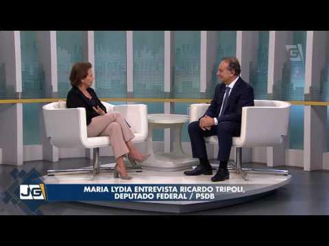 Maria Lydia entrevista Ricardo Tripoli, deputado federal/PSDB