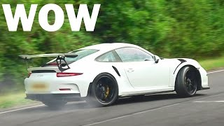 Supercars and Tuner Cars leaving a Car Show - September 2016