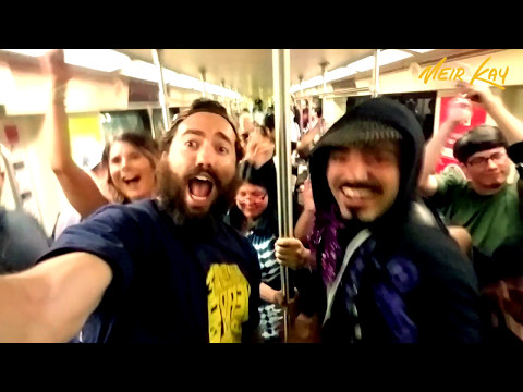 DJ Dance Party On The Los Angeles Subway