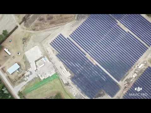 Bladenboro 2 Solar Project Drone