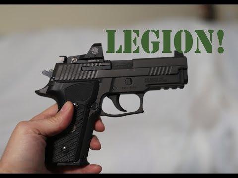 Repeat Sig Armorer customized P229 Legion vs Cajun Gunworks