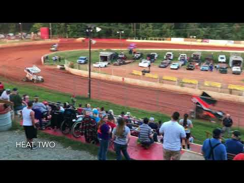 Carolina No Bull Sprint Series At East Lincoln Speedway 9/16/17