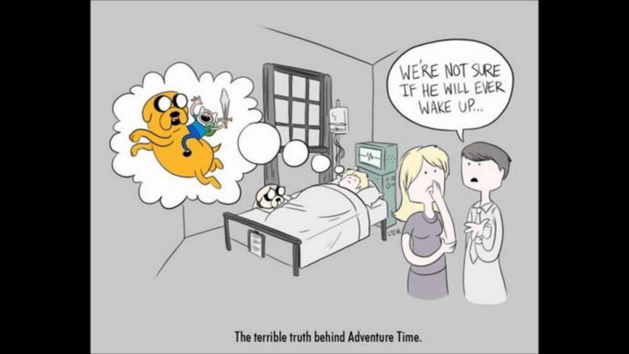 Creepypasta The Adventure Time Theory Youtube