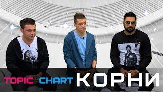 КОРНИ в гостях у #TOPIC CHART/ EUROPA PLUS TV